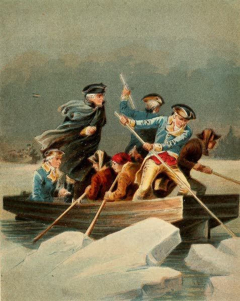 The Life of George Washington - Crossing the Delaware (1893)