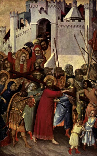 The Louvre : Fifty Plates in Colour - Simone Martini - Christ Bearing His Cross  (1910)