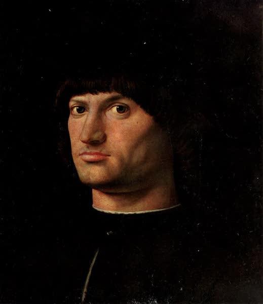 The Louvre : Fifty Plates in Colour - Antonello Da Messina - Portrait Of A Condottiere (1910)