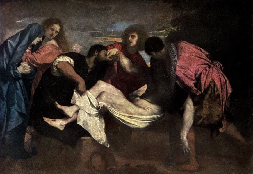 The Louvre : Fifty Plates in Colour - Titian - The Entombment (1910)