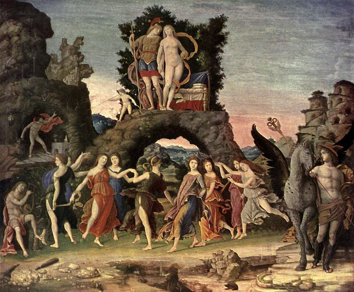 The Louvre : Fifty Plates in Colour - Andrea Mantegna - Parnassus (1910)
