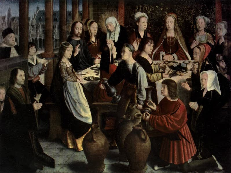 The Louvre : Fifty Plates in Colour - Geeaed David - The Marriage At Cana (1910)
