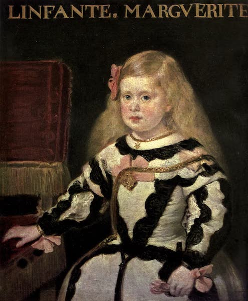 The Louvre : Fifty Plates in Colour - Velazquez - Portrait Of The Infanta Margarita (1910)