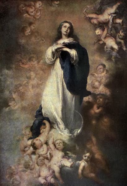 The Louvre : Fifty Plates in Colour - Murillo - The Immaculate Conception (1910)