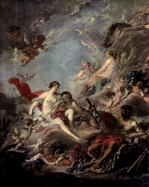 The Louvre : Fifty Plates in Colour - Boucher - Vulcan Presenting Arms To Venus (1910)