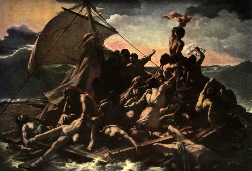 The Louvre : Fifty Plates in Colour - Gericault - The Raft Of The