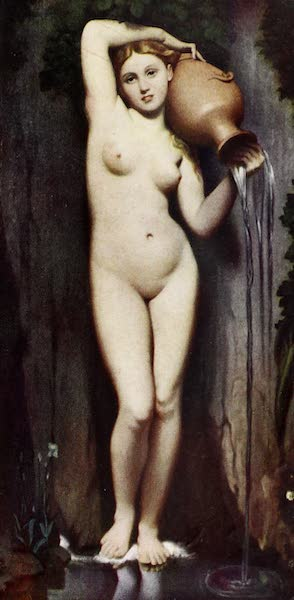 The Louvre : Fifty Plates in Colour - Ingres - The Spring (1910)