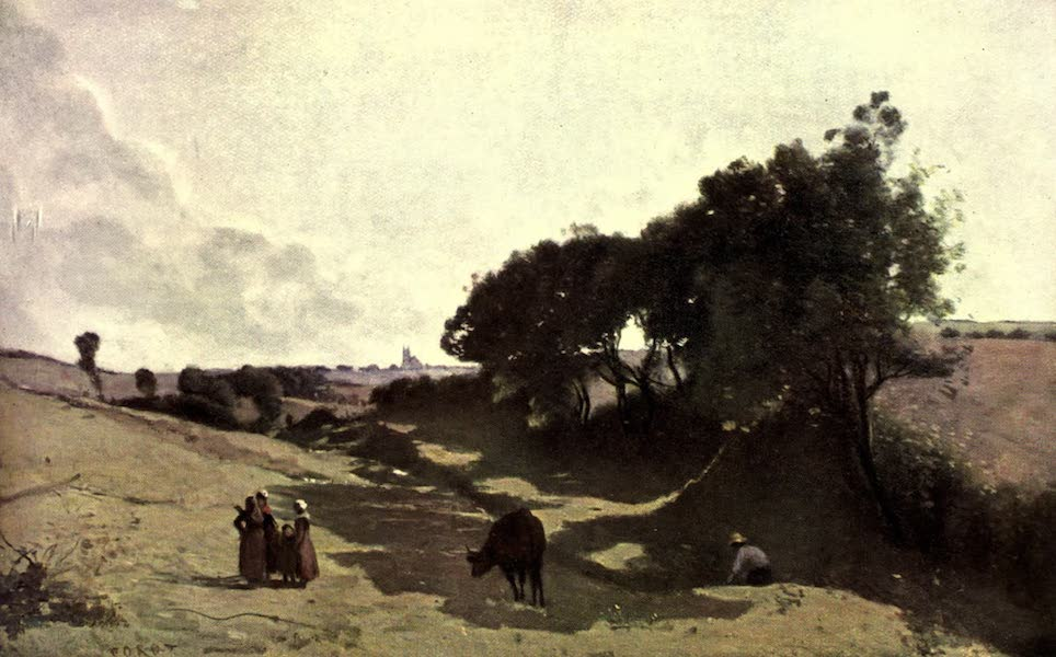 The Louvre : Fifty Plates in Colour - Corot - The Dell  (1910)