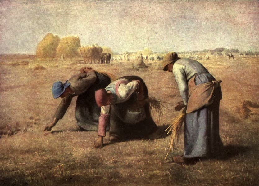 The Louvre : Fifty Plates in Colour - Millet - Women Gleaning  (1910)