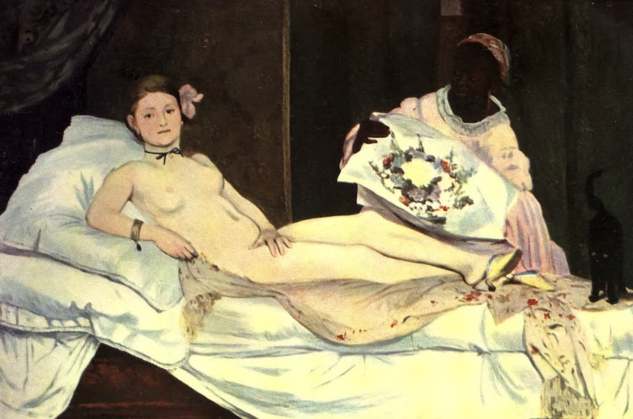 The Louvre : Fifty Plates in Colour - Manet - Olympia (1910)