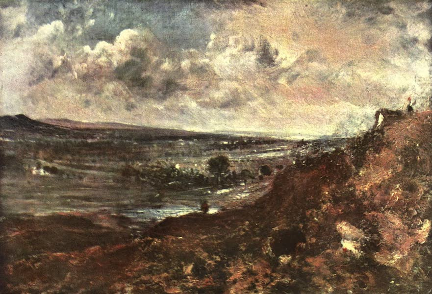 The Louvre : Fifty Plates in Colour - Constable - Hampstead Heats (1910)