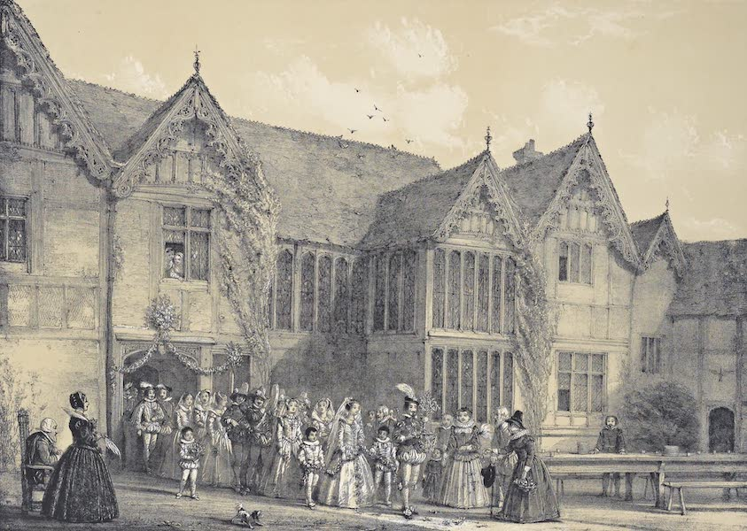 The Mansions of England in the Olden Time Vol. 1 - Ockwells, Berks (1839)