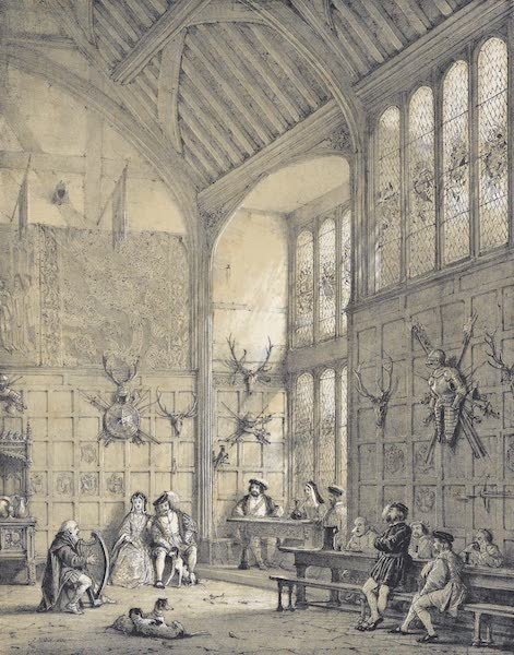 The Mansions of England in the Olden Time Vol. 1 - Hall, Ockwells, Berks (1839)