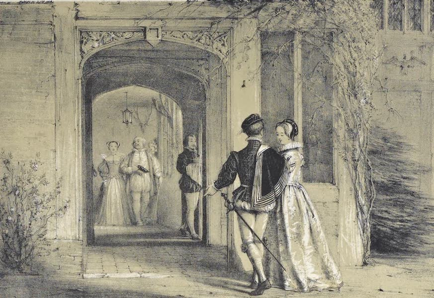 The Mansions of England in the Olden Time Vol. 1 - Porch, Ockwells, Berks (1839)