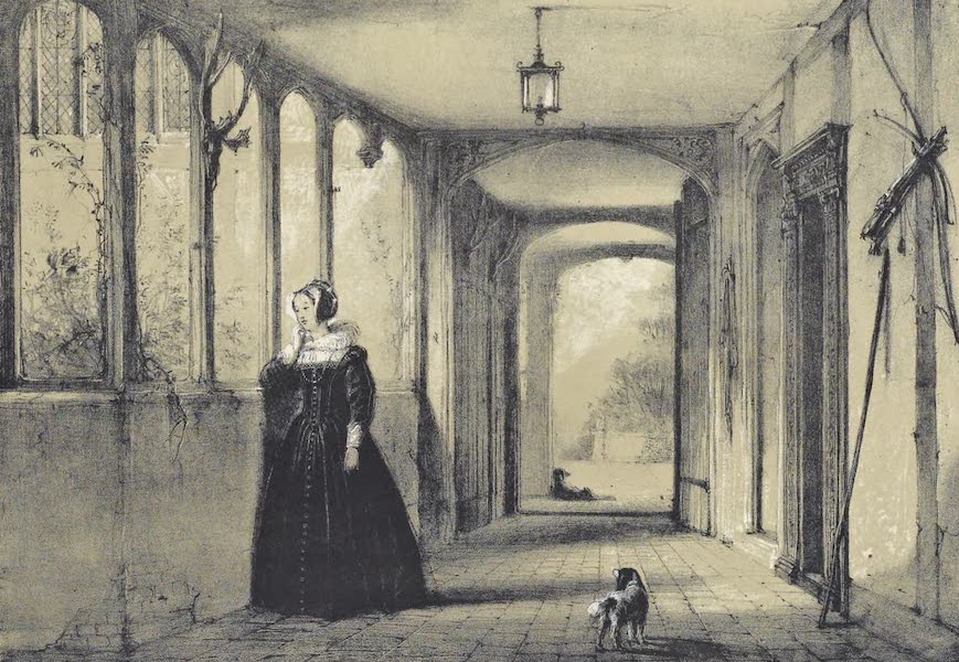 The Mansions of England in the Olden Time Vol. 1 - Corridor, Ockwells, Berks (1839)