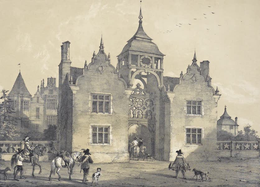 The Mansions of England in the Olden Time Vol. 1 - Westwood, Worcestershire (1839)