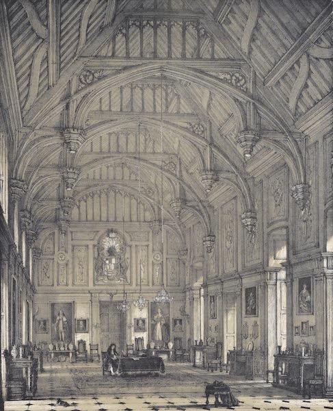 The Mansions of England in the Olden Time Vol. 1 - Hall, Beddington, Beddington, Surrey (1839)