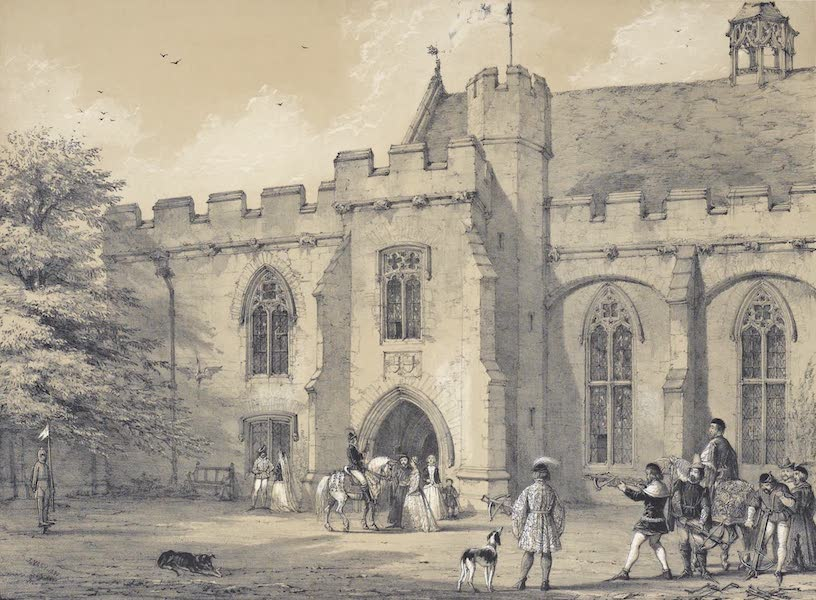 The Mansions of England in the Olden Time Vol. 1 - Penshurst, Kent (1839)