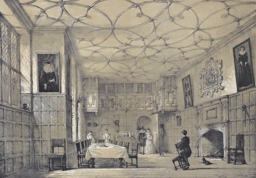 The Mansions of England in the Olden Time Vol. 1 - Hall, Franks, Kent (1839)