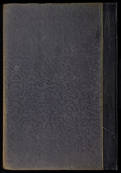 The Mansions of England in the Olden Time Vol. 1 - Back Cover (1839)