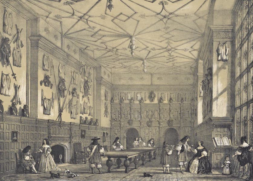 The Mansions of England in the Olden Time Vol. 2 - Hall, Littlecotes, Wilts (1839)