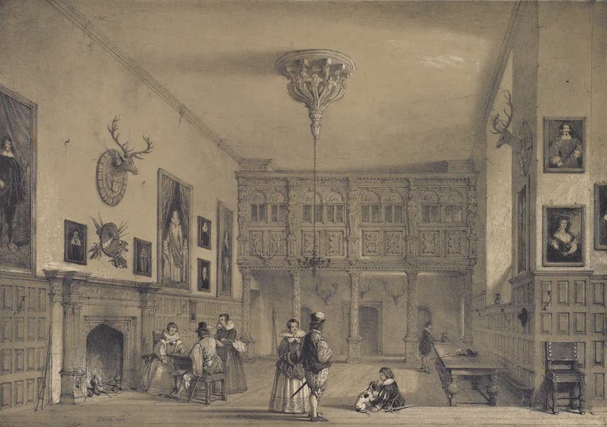 The Mansions of England in the Olden Time Vol. 2 - Wroxton Abbey, Oxfordshire (1839)