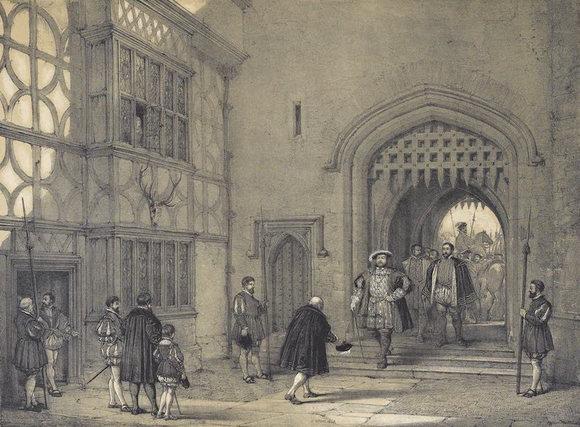 The Mansions of England in the Olden Time Vol. 2 - Hever Castle, Kent (1839)
