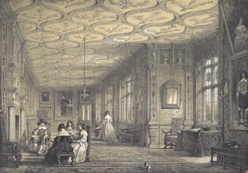 The Mansions of England in the Olden Time Vol. 2 - The Cartoon Gallery, Knowle, Kent (1839)