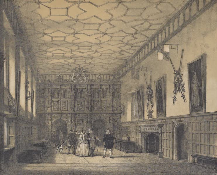The Mansions of England in the Olden Time Vol. 2 - Hall, Knowle, Kent (1839)