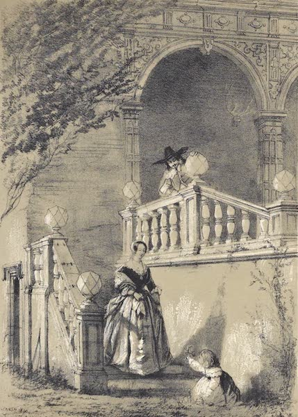 The Mansions of England in the Olden Time Vol. 2 - Bramshill, Hans [I] (1839)
