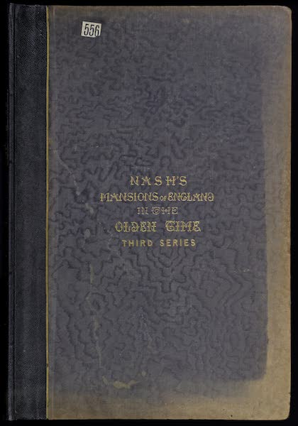 The Mansions of England in the Olden Time Vol. 3 - Front Cover (1839)