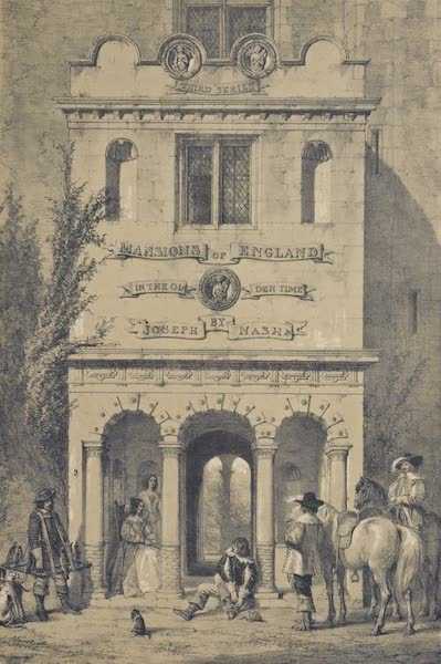 The Mansions of England in the Olden Time Vol. 3 - Title Page (1839)