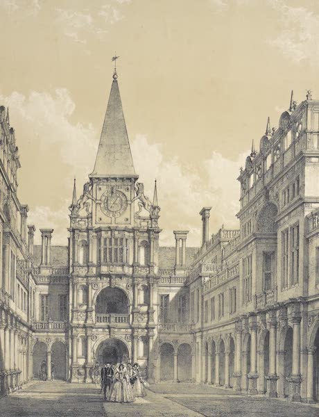 The Mansions of England in the Olden Time Vol. 3 - Burleigh, Northamptonshire (1839)
