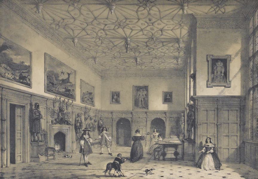 The Mansions of England in the Olden Time Vol. 3 - Hall, Parham, Sussex (1839)