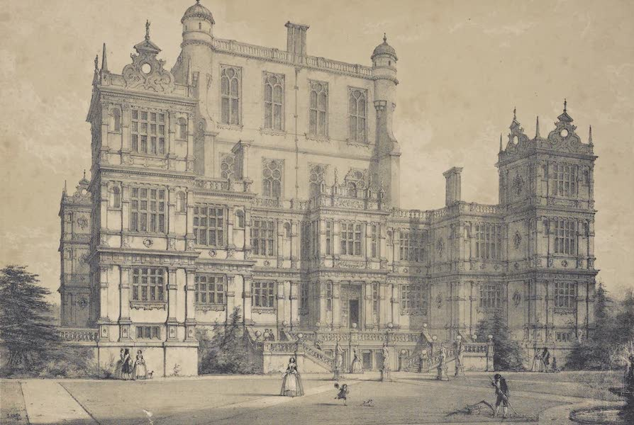 The Mansions of England in the Olden Time Vol. 3 - Wollaton, Nottinghamshire (1839)