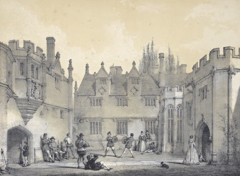 The Mansions of England in the Olden Time Vol. 3 - Athelhampton, Dorsetshire (1839)