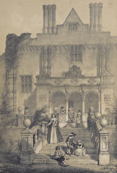 The Mansions of England in the Olden Time Vol. 3 - Cranbourne, Dorsetshire (1839)