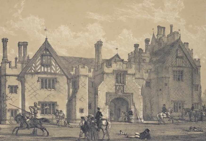 The Mansions of England in the Olden Time Vol. 3 - Compton, Wynyates, Warwickshire (1839)