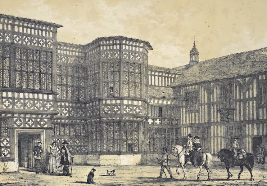 The Mansions of England in the Olden Time Vol. 3 - Bramhall Hall, Cheshire (1839)