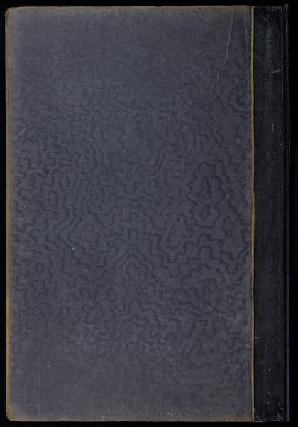 The Mansions of England in the Olden Time Vol. 3 - Back Cover (1839)