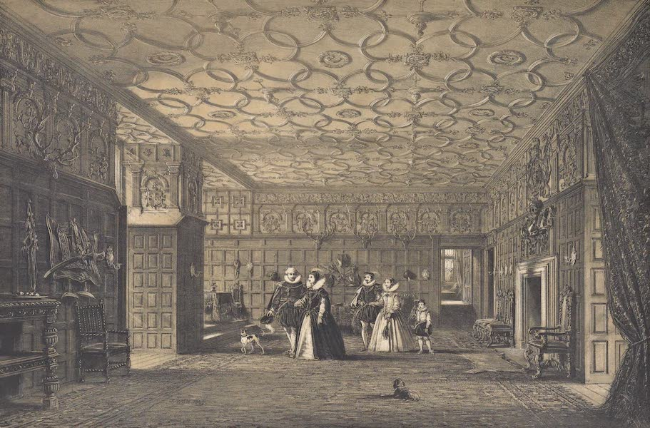 The Mansions of England in the Olden Time Vol. 4 - The Hall, Westmoreland (1839)