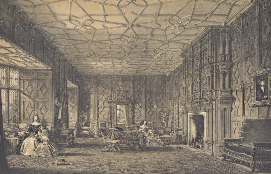 The Mansions of England in the Olden Time Vol. 4 - Drawing Room, Levels, Westmoreland (1839)