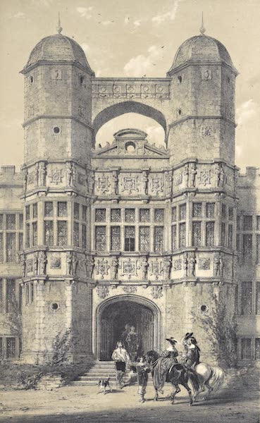 The Mansions of England in the Olden Time Vol. 4 - Berereton, Cheshire (1839)