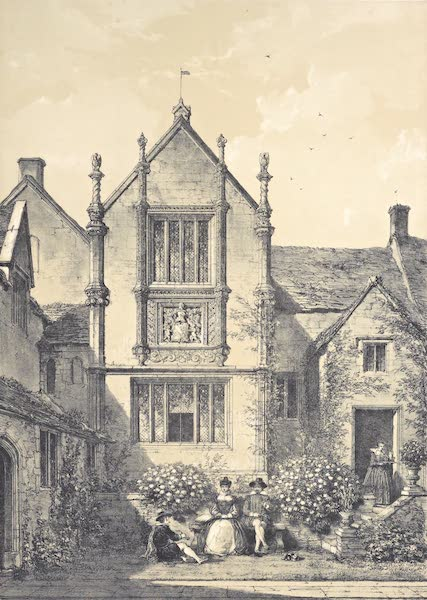 The Mansions of England in the Olden Time Vol. 4 - Bingham Melcomb, Dorsetshire (1839)