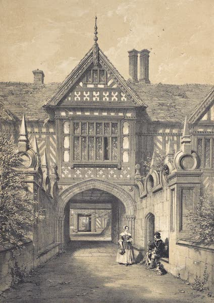 The Mansions of England in the Olden Time Vol. 4 - Speke Hall, Lancashire (1839)