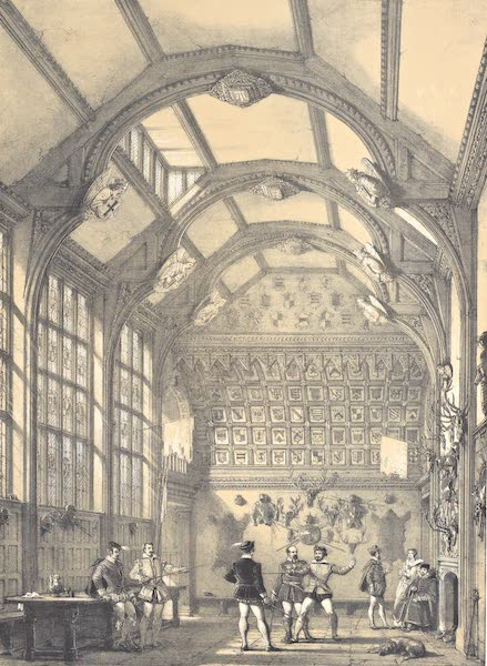 The Mansions of England in the Olden Time Vol. 4 - Hall, Adlington, Cheshire (1839)