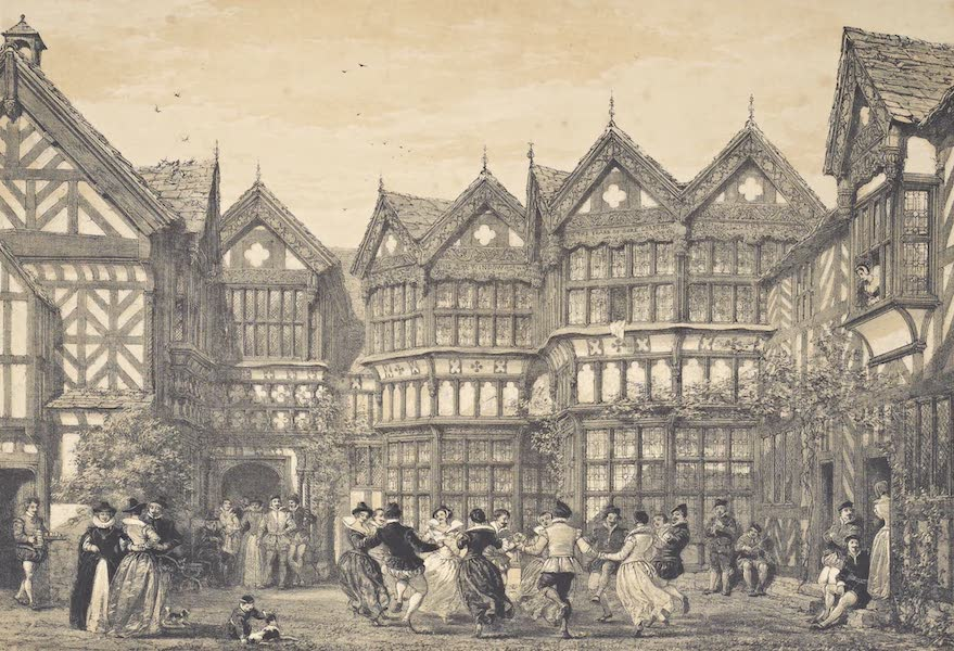 The Mansions of England in the Olden Time Vol. 4 - Little Moreton Hall, Cheshire (1839)