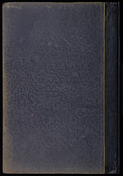 The Mansions of England in the Olden Time Vol. 4 - Back Cover (1839)