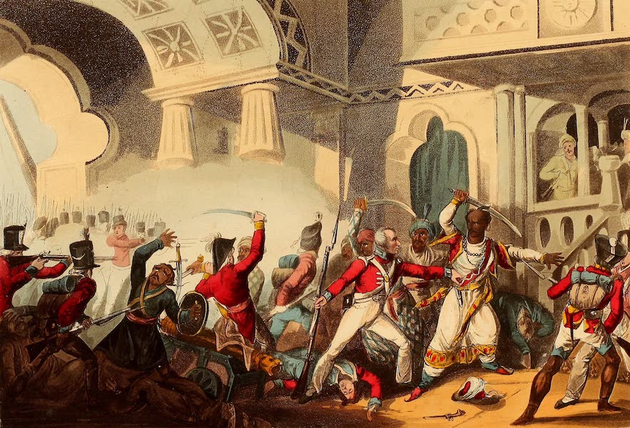 The Martial Achievements of Great Britain - Storming of Seringapatam - May 4th 1799 (1815)