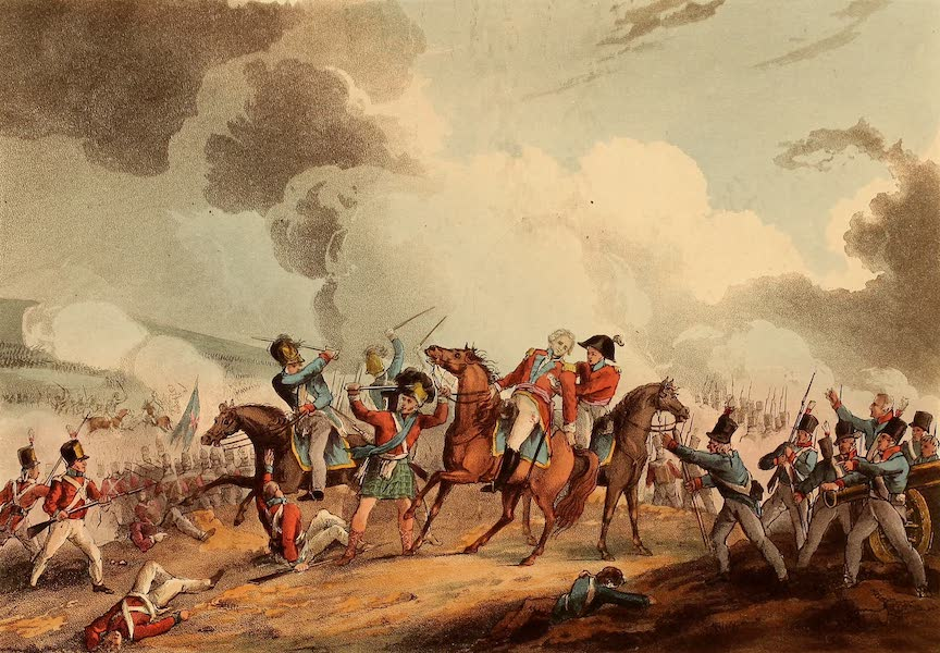 The Martial Achievements of Great Britain - Death of Sir Ralph Abercromby, March 21, 1801 (1815)